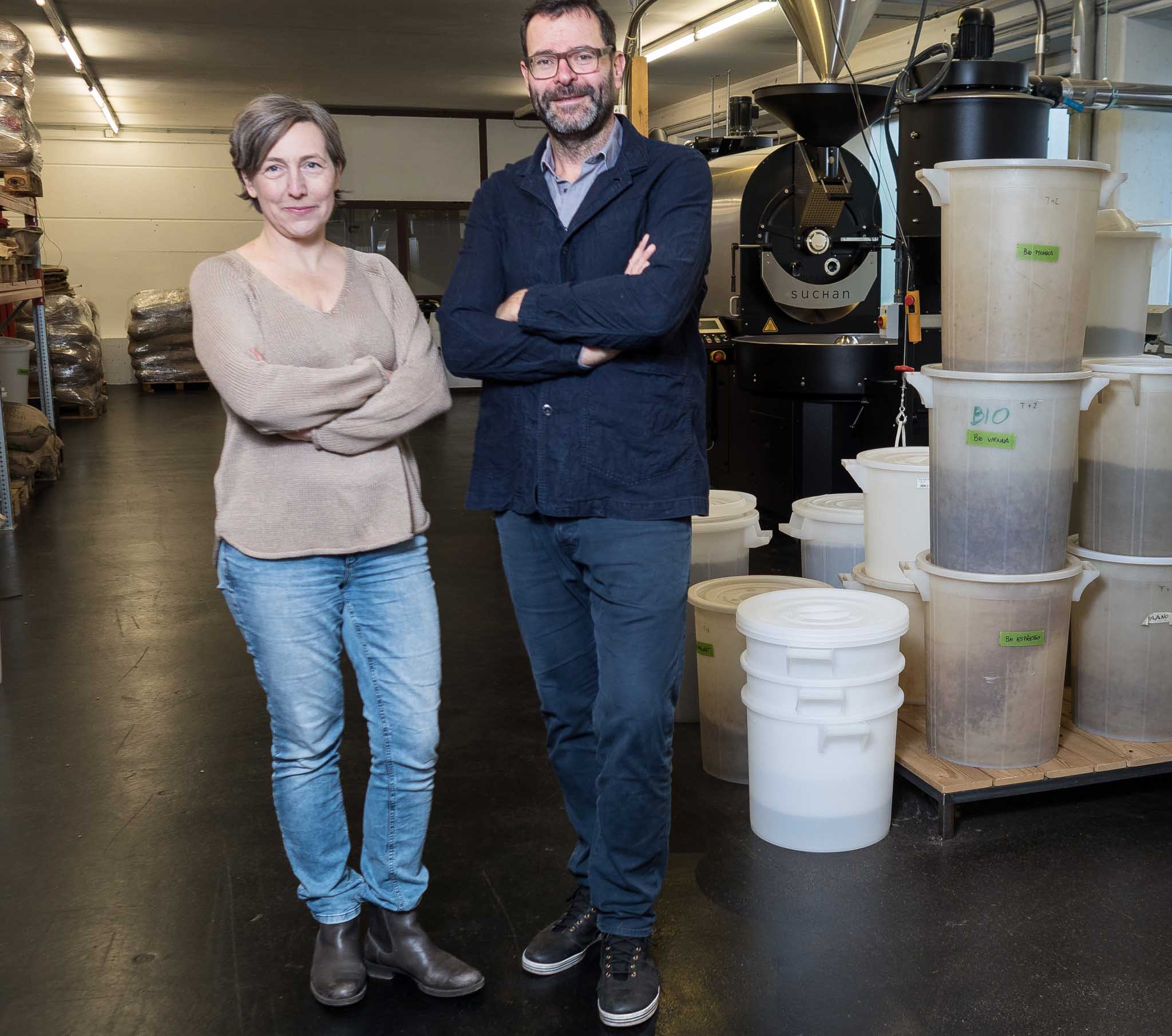 Dagmar und Peter Affenzeller, Kaffeerösterei Suchan, Freistadt